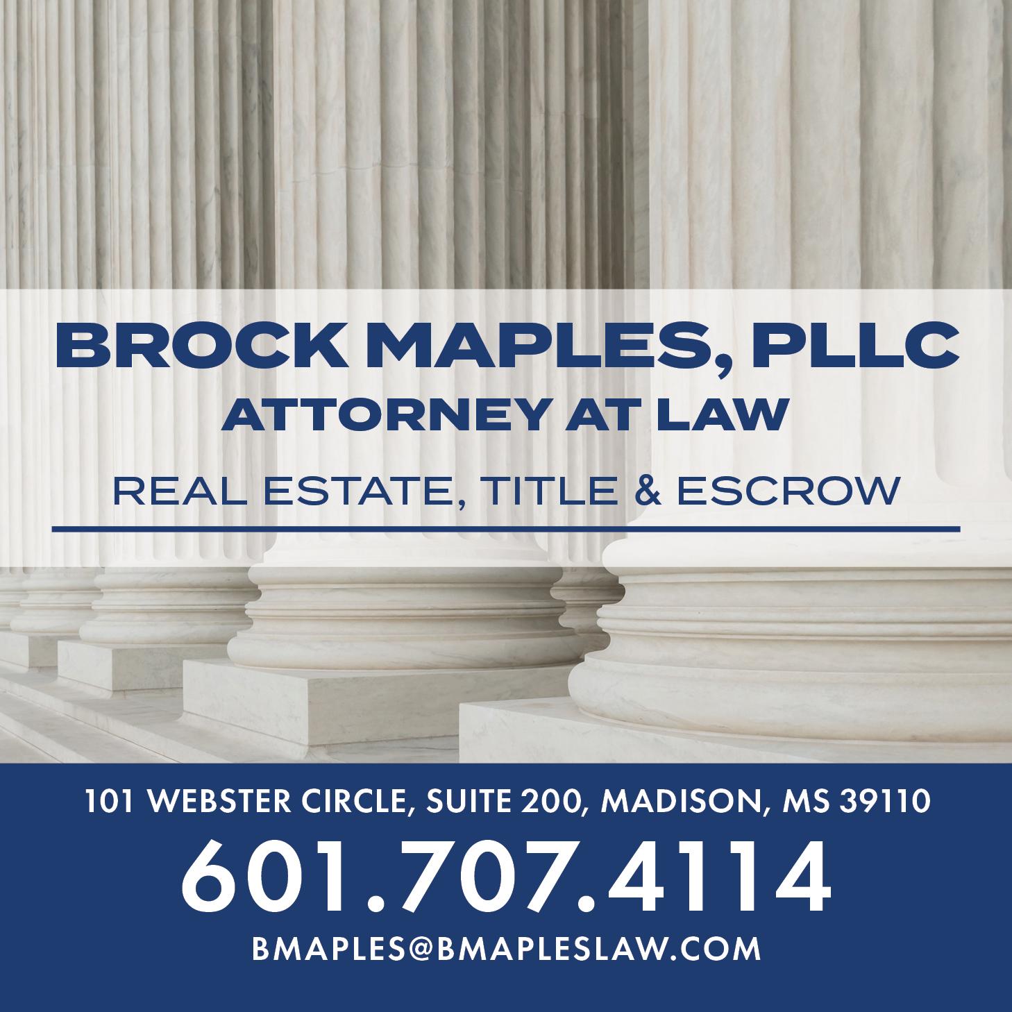 Brock Maples